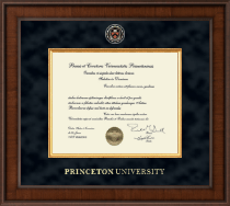 Princeton University Diploma Frame - Presidential Masterpiece Diploma Frame in Madison