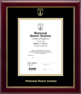 National Honor Society Certificate Frame - Gold Embossed Certificate Frame in Gallery