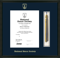National Honor Society Certificate Frame - Tassel Edition Certificate Frame in Omega