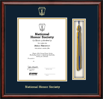 National Honor Society Certificate Frame - Tassel Edition Certificate Frame in Southport