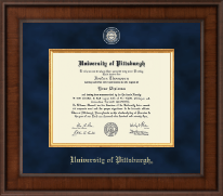 University of Pittsburgh Diploma Frame - Presidential Masterpiece Diploma Frame in Madison
