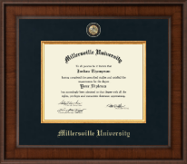 Millersville University of Pennsylvania Diploma Frame - Presidential Masterpiece Diploma Frame in Madison
