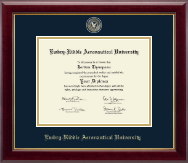 Embry-Riddle Aeronautical University Diploma Frame - Masterpiece Medallion Diploma Frame in Gallery