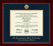 Pennsylvania State University Diploma Frame - Gold Engraved Medallion Diploma Frame in Sutton