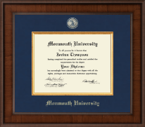 Monmouth University Diploma Frame - Presidential Masterpiece Diploma Frame in Madison