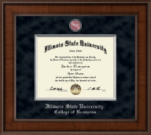 Illinois State University Diploma Frame - Presidential Masterpiece Diploma Frame in Madison
