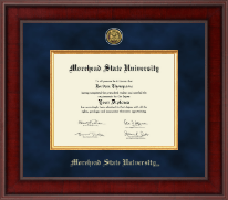 Morehead State University Diploma Frame - Presidential Gold Engraved Diploma Frame in Jefferson