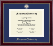 Marymount University Diploma Frame - Masterpiece Medallion Diploma Frame in Gallery