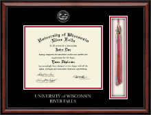 University of Wisconsin River Falls Diploma Frame - Tassel Edition Diploma Frame in Southport