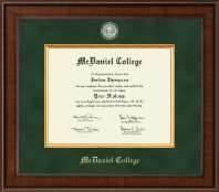 McDaniel College Diploma Frame - Presidential Masterpiece Diploma Frame in Madison