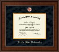 Ferris State University Diploma Frame - Presidential Masterpiece Diploma Frame in Madison