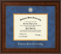 Indiana State University Diploma Frame - Presidential Masterpiece Diploma Frame in Madison