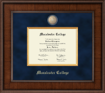 Macalester College Diploma Frame - Presidential Masterpiece Diploma Frame in Madison