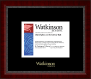Watkinson School in Connecticut Diploma Frame - Gold Embossed Diploma Frame in Sutton
