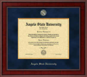 Angelo State University Diploma Frame - Presidential Masterpiece Diploma Frame in Jefferson