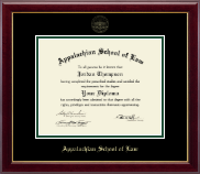Appalachian School of Law Diploma Frame - Gold Embossed Diploma Frame in Gallery