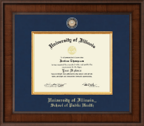 University of Illinois Diploma Frame - Presidential Masterpiece Diploma Frame in Madison