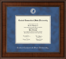 Central Connecticut State University Diploma Frame - Presidential Masterpiece Diploma Frame in Madison