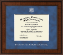 Southern Connecticut State University Diploma Frame - Presidential Masterpiece Diploma Frame in Madison