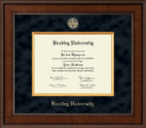 Bradley University Diploma Frame - Presidential Masterpiece Diploma Frame in Madison