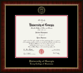 The University Of Georgia Diploma Frames For Terry