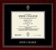 Knox College Diploma Frame - Gold Embossed Diploma Frame in Sutton