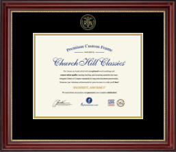 Nursing Diploma Frames and Gifts Certificate Frame - Gold Embossed Certificate Frame in Kensington Gold