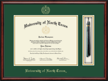 University of North Texas Diploma Frame - Tassel Edition Diploma Frame in Southport