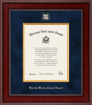 United States Coast Guard Certificate Frame - Presidential Masterpiece Certificate Frame in Jefferson