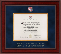 University of Pennsylvania Diploma Frame - Presidential Masterpiece Diploma Frame in Jefferson