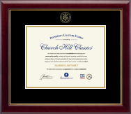 Nursing Diploma Frames and Gifts Certificate Frame - Gold Embossed Certificate Frame in Gallery