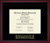 Southern Illinois University at Edwardsville Diploma Frame - Gold Embossed Achievement Edition Diploma Frame in Academy