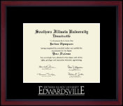Silver Embossed Achievement Edition Diploma Frame
