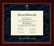 Brenau University Diploma Frame - Gold Embossed Diploma Frame in Sutton