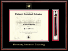 Wentworth Institute of Technology Diploma Frame - Tassel Edition Diploma Frame in Southport
