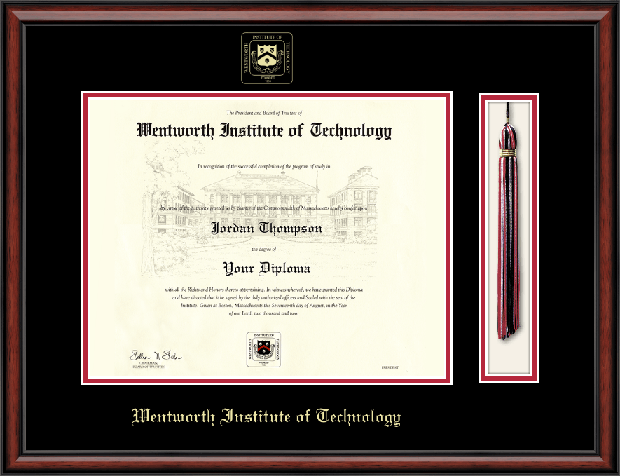 wentworth institute of technology tassel edition diploma