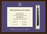 The City College of New York Diploma Frame - Tassel Edition Diploma Frame in Delta