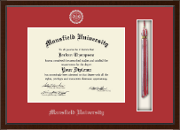 Mansfield University of Pennsylvania Diploma Frame - Tassel Edition Diploma Frame in Delta