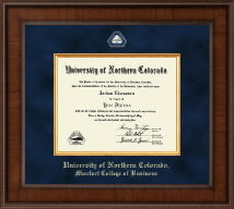 University of Northern Colorado Diploma Frame - Presidential Masterpiece Diploma Frame in Madison