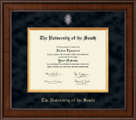 The University of the South Diploma Frame - Presidential Masterpiece Diploma Frame in Madison