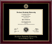 Northern Kentucky University Diploma Frame - Masterpiece Medallion Diploma Frame in Gallery