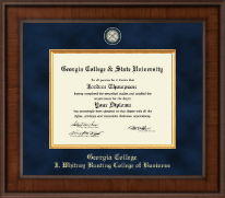 Georgia College & State University Diploma Frame - Presidential Masterpiece Diploma Frame in Madison