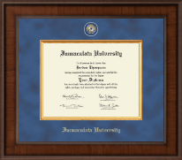 Immaculata University Diploma Frame - Presidential Masterpiece Diploma Frame in Madison