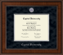Capital University Diploma Frame - Presidential Masterpiece Diploma Frame in Madison