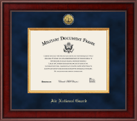 "11""x14"" - Presidential Gold Engraved Air National Guard Certificate Frame"