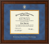 The University of Tennessee Chattanooga Diploma Frame - Presidential Masterpiece Diploma Frame in Madison