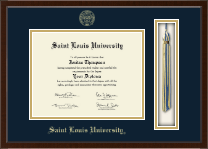 Saint Louis University Diploma Frame - Tassel Edition Diploma Frame in Delta