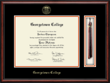 Georgetown College Diploma Frame - Tassel Edition Diploma Frame in Southport