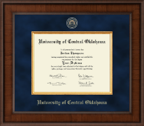 University of Central Oklahoma Diploma Frame - Presidential Masterpiece Diploma Frame in Madison