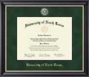 University of North Texas Diploma Frame - Regal Edition Diploma Frame in Noir